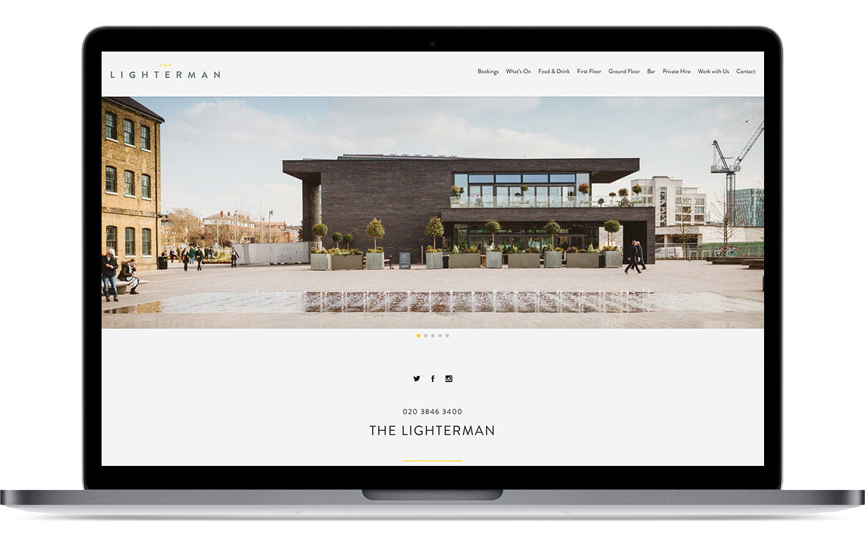 Lighterman - website