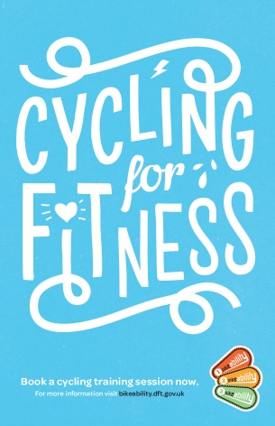 Bikeability - cycling for fitness poster