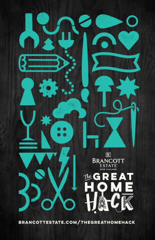 Brancott Estate - The Great Home Hack poster