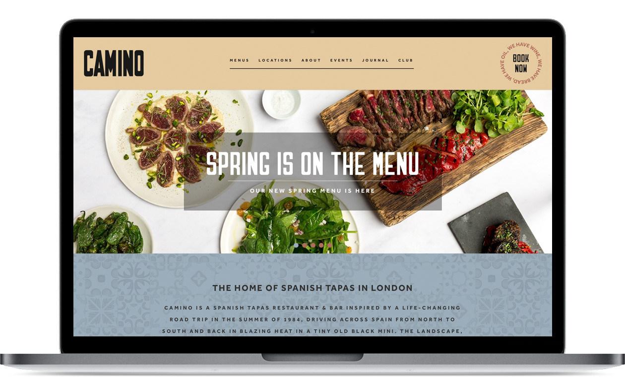 Camino - website