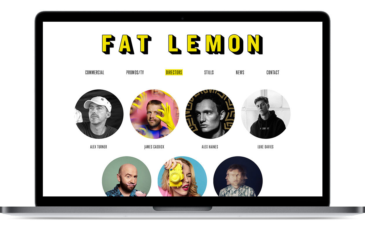 Fat Lemon - website